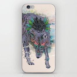 Journeying Spirit (wolf) iPhone Skin