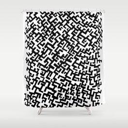 Not a Maze Shower Curtain