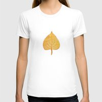 lonely T-shirts featuring Lonely Leaf by Klara Acel