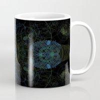 techno Mugs featuring Techno Archeology by writingoverashes