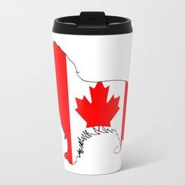 Canada Border Collie Travel Mug