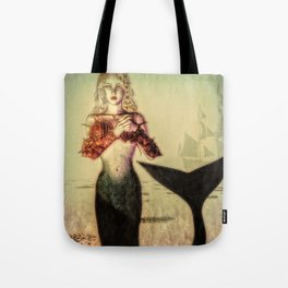 The Lonely Mermaid Tote Bag