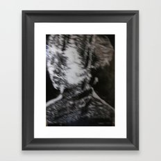 STOP IT Framed Art Print