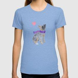 Watercolour Australian Cattle Dog T-shirt