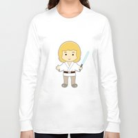 luke hemmings Long Sleeve T-shirts featuring Luke by Jasmine Victoria