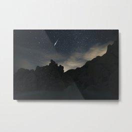 Joshua Tree Night Sky Metal Print