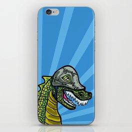 Warrior Dino (1 of 2 in Warrior Series) iPhone Skin