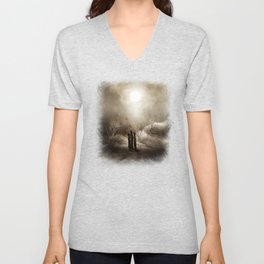 The cult of the moon Unisex V-Neck