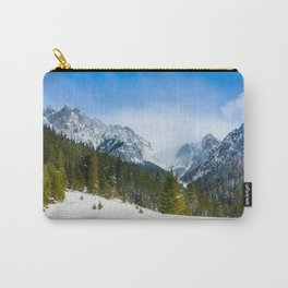 Winter Tatra Mountains Carry-All Pouch