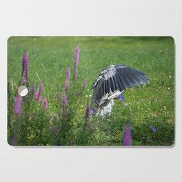 Welcome Heron Cutting Board