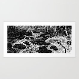 Avery Creek Art Print