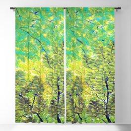 Hayami Gyoshu New Leaves Blackout Curtain