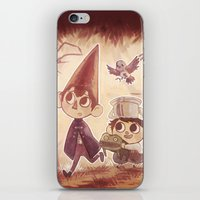 over the garden wall iPhone & iPod Skins featuring Over the Garden Wall by Keikilani