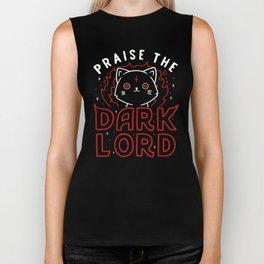 Praise The Dark Lord Biker Tank