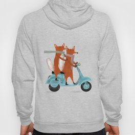 the fox mobile Hoody