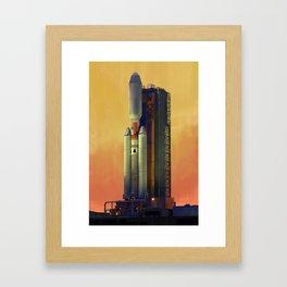 Titan IVB Framed Art Print