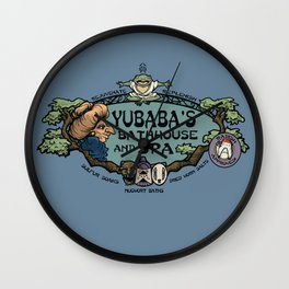 Yubaba's Bathhouse Wall Clock