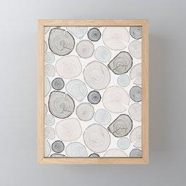 Tree Rings Framed Mini Art Print