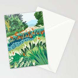 Solo Walk #illustration #nature Stationery Cards