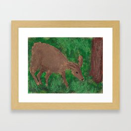 Doe! A Deer! Framed Art Print