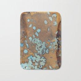 Copper Raindrops Bath Mat