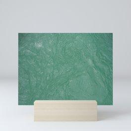 Water of Soca or Isonzo Mini Art Print