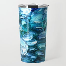 Blue Green Crystal Travel Mug