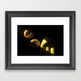 Slice of Sun: Fruit Framed Art Print