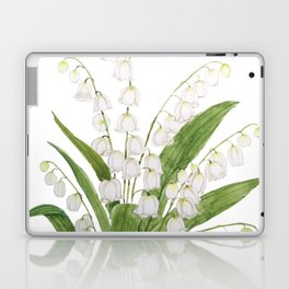 white lily of valley Laptop & iPad Skin