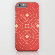SOUND! Circle Square Pattern (Girl) Slim Case iPhone 6s