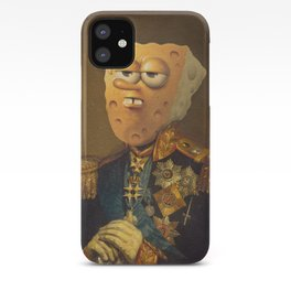 General Spongebob Portrait | Fan Art Painting iPhone Case