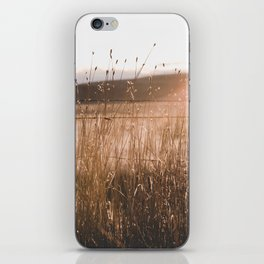 Summer Fields - Rustic Adventure Nature Photography iPhone Skin