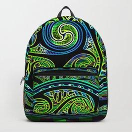 Variated Spheres #1 Psychedelic Celtic Design Backpack