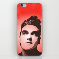 the smiths iPhone & iPod Skins featuring The Smiths - This Charming Man - Pop Art by William Cuccio aka WCSmack