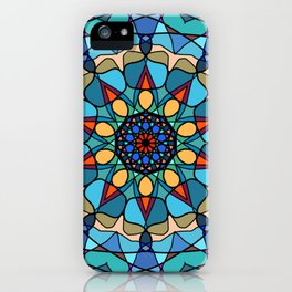 Peace Mandala iPhone Case