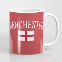 manchester Mugs featuring Manchester by Earl of Grey