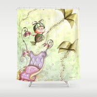 journey Shower Curtains featuring Journey by  • naylapulga