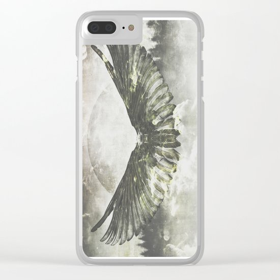 Wilderness in my heart Clear iPhone Case