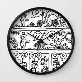 Comic: page one of Horticultural Fudge Wall Clock