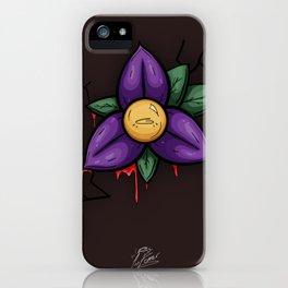 Leaking Flower iPhone Case
