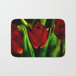 Concept flora : The red queen Bath Mat