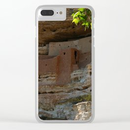 Montezuma Castle Clear iPhone Case