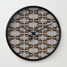 Egyptian Geese Family Wall Clock