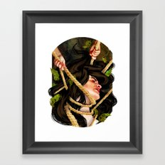 'Mother, mother, you have murdered me!' Framed Art Print