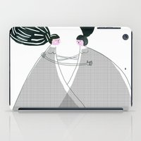 best friend iPad Cases featuring Best friend by yael frankel
