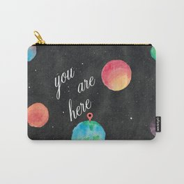 Watercolour Universe Carry-All Pouch