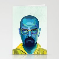 heisenberg Stationery Cards featuring Heisenberg by Ned & Ems
