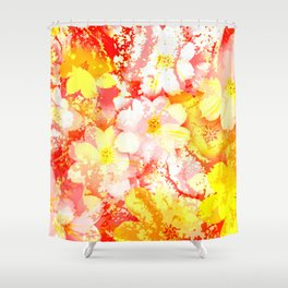 Flowers_106 Shower Curtain