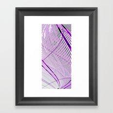 Viral Spiral - Vivido Series Framed Art Print