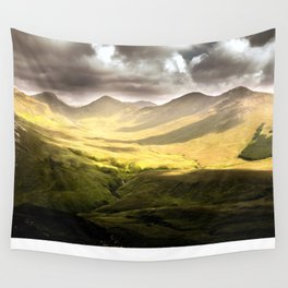 Up To The Mountains Wall Tapestry